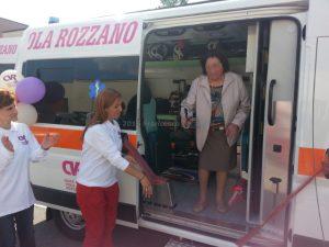 Inaugurazione ambulanza V41