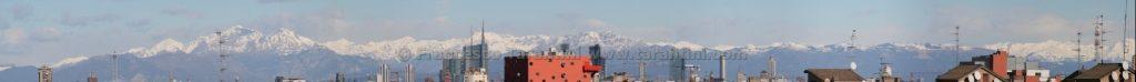 Panorama montagne da casa CaSerTa