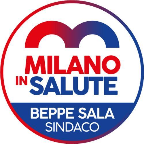 Contrassegno della lista civica Milano in Salute, Beppe Sala sindaco